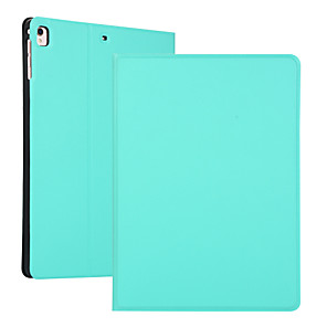 cheap iPad case-Case For Apple iPad 2 3 4 Air Air2 Air3  ipad pro 9.7 ipad pro 10.5 ipad 10.2(2019) Shockproof Flip Full Body Cases  PU Leather TPU Solid Colored Auto Sleep Wake Up