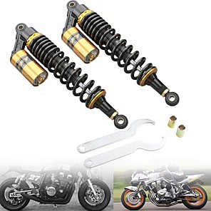 cheap Motorcycle Lighting-RFY Universal 320mm 12.5inch Motorcycle Rear Shock Absorber Suspension For Honda/Yamaha/Suzuki/Kawasaki For Motor Scooter ATV Quad Dirt Bike