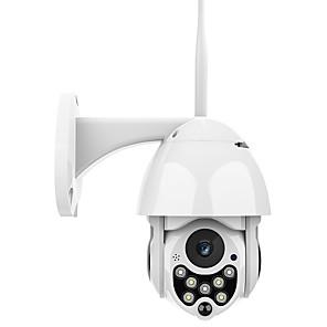 cheap Outdoor IP Network Cameras-1080P Auto Tracking Outdoor PTZ IP Camera Speed Dome Surveillance Cameras Waterproof Wireless WiFi Security CCTV Camera