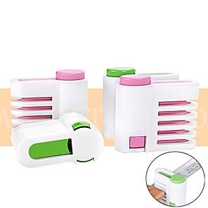 cheap Kitchen Utensils & Gadgets-2pcs DIY Kitchen Tool Cake Cutter Leveler 5 Layer Slicer Cutting Fixator