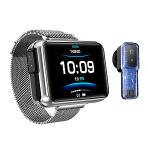 cheap Smartwatches-HS300 Smartwatch & Earbud 2-in-1 Support Bluetooth Call/Play Music/Siri, Bluetooth 280mah Battery-capacity Fitness Tracker for Apple/ Samsung/ Android Phones