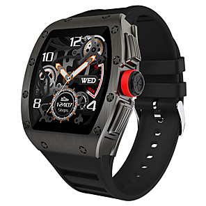 cheap Smartwatches-M2 Hybrid-face Sports Fitness Tracker Support IP68 Waterproof/ Heart Rate Measurement, Long Battery-life Smartwatch for IOS/ Samsung/ Android Phones