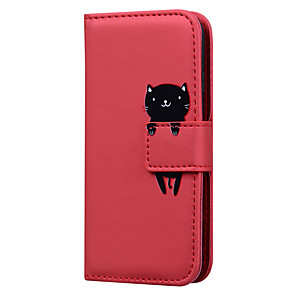 cheap Samsung Case-Case For Samsung Galaxy S8 S8 Plus S7 S7 Edge J5 2017 J7 2017 A3 2017 A5 2017 Card Holder Flip Full Body Cases Solid Colored  Cartoon PU Leather