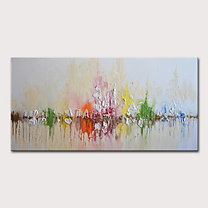 cheap Abstract Paintings-Mintura Hand Painted Abstract Knife Oil Paintings on Canvas Modern Wall Picture Art Posters For Home Decoration Ready To Hang With Stretched Frame