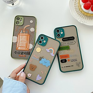 cheap iPhone Cases-Case For Apple iPhone 6 6plus 6s 6s plus 7 7Plus iPhone 8 8Plus iPhone X iPhone XS XR XS max iPhone 11 11 Pro 11 Pro Max SE Pattern Back Cover Word Phrase TPU PC