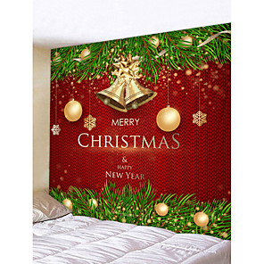 cheap Abstract Paintings-Christmas Weihnachten Santa Claus Wall Tapestry Art Decor Blanket Curtain Picnic Tablecloth Hanging Home Bedroom Living Room Dorm Decoration Merry Christmas Tree Happy New Year Gift Polyester