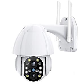 cheap Outdoor IP Network Cameras-3MP FHD PTZ Wifi Video Surveillance Camera Outdoor IP66 Waterproof Security IP Camera Color IR Security CCTV Monitor