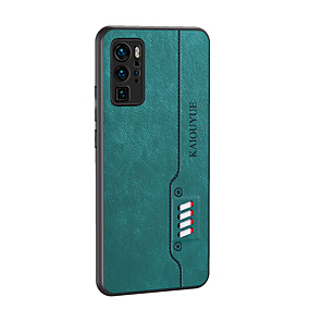 cheap Huawei Case-Case For Huawei Y5P Y6P Y7P(2020) Y8P Mate 20lite P40 lite E Enjoy 10S Honor 9S 9C Magic 2 Play 4T 4TPro Shockproof Ultra-thin Back Cover Solid Colored PU Leather TPU