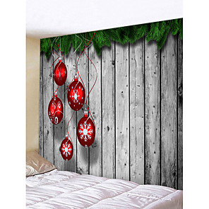 cheap Abstract Paintings-Christmas Weihnachten Santa Claus Wall Tapestry Art Decor Blanket Curtain Picnic Tablecloth Hanging Home Bedroom Living Room Dorm Decoration Merry Christmas Tree Gift Wooden Board Polyester