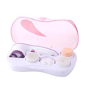 Χαμηλού Κόστους Skin Care-ηλεκτρικό περιστρεφόμενο όργανο πλύσης προσώπου πέντε-σε-ένα πολυλειτουργικό πινέλο περιποίησης προσώπου όργανο καθαρισμού προσώπου 360