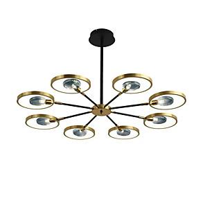 cheap LED Strip Lights-106 cm 8-Light Flush Mount Lights Metal Modern 110-120V 220-240V