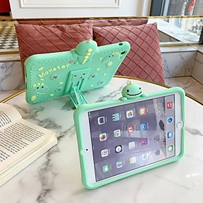 billiga iPad fodral-fodral för apple ipad air / ipad 4/3/2 / ipad mini 3/2/1 stötsäker / med bakre omslag tecknad silikagel