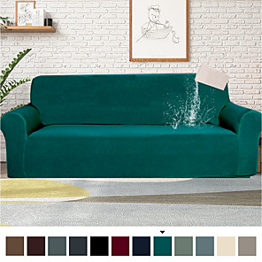 cheap Rugs-1 Piece Water-Repellent Sofa Cover Stretch Couch Covers Sofa Slipcover Protector for Living Room,Feature Small Checked,Dog Cat Pet Proof