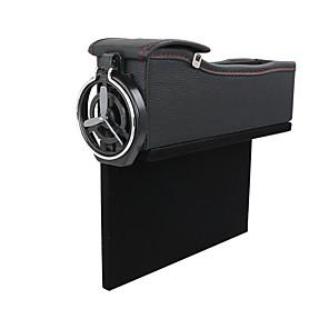 cheap Car Air Purifiers-6008 Car Seat Gap Storage Universal Auto Seat Crevice Organizer Seat Side Gap Storage Box Auto Accessories Main driver's seat