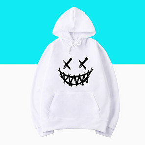 cheap Everyday Cosplay Anime Hoodies & T-Shirts-Inspired by Cosplay Lil peep Cosplay Costume Hoodie Polyster Print Printing Hoodie For Men's / Women's