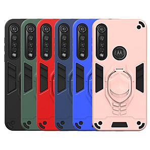 cheap Other Phone Case-Case For Motorola MOTO G8PLAY G8 PlusX P40 Power Shockproof with Stand Back Cover Armor TPU PC
