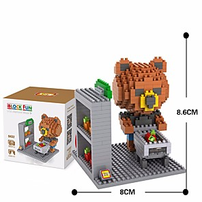 cheap Building Blocks-Building Blocks Military Blocks LOZ Blocks 360 pcs Soldier compatible Plastic Legoing Classic DIY Boys' Toy Gift / Kid's / Kids