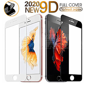 cheap iPhone Cases-Full Cover Tempered Glass For iPhone SE 2020 7 8 Plus Screen Protector Glass For iphone 6 6S Plus Protective Glas Film Case