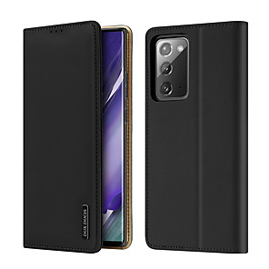 cheap Samsung Case-Case For Samsung Galaxy S20 PLUS S20 S20 ULTRA NOTE 10 PLUS S10 PLUS Card Holder Shockproof  Flip Full Body Cases Solid Colored PU Leather  TPU Genuine Leather WALLET