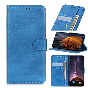 cheap Other Phone Case-Case For Motorola Moto G8 G8 Power G8 Power Lite G Stylus E7 G Power E6S 2020 Edge Card Holder Flip Full Body Cases Solid Colored PU Leather