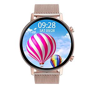 preiswerte Smartuhren-jsbp hdt96 smart watch 360 * 360 hd bildschirm bt fitness tracker unterstützung benachrichtigen / herzfrequenzmonitor sport edelstahl bluetooth smartwatch kompatibel ios / android handys