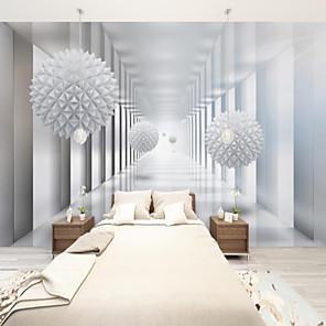 baratos Papel de Parede-art déco personalizado autocolante mural papel de parede arte esfera adequada para quarto sala de estar café restaurante hotel decoração de parede arte