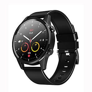 cheap Smartwatches-KW35 Smart Watch For Men Men Sport Watch Bluetooth Watch Call Heart-rate Blood Pressure Full Round Watch Running Watch