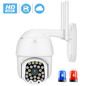 cheap Outdoor IP Network Cameras-BESDER 1080P WiFi PTZ Camera IP Auto Tracking 23IR LED 2MP Audio CCTV Security Camera 4X Zoom Speed Dome Wireless Camera Cloud