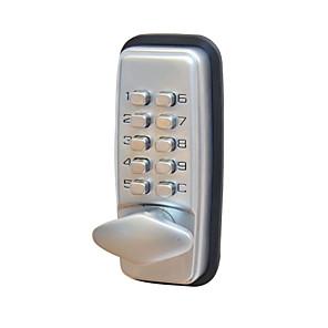 billige Dørlås-304 rustfritt stål passordlås smart hjem sikkerhetssystem dørlås hjem villa kontor hotell leilighet sammensatt dør tre dører sikkerhet dørdrakt for venstre dør høyre dør