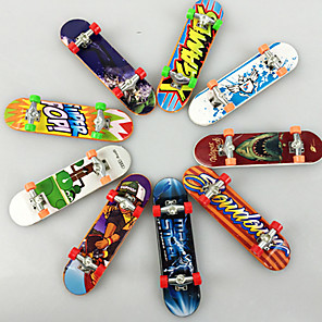 cheap Stuffed Animals-10 pcs Finger skateboards Mini fingerboards Finger Toys Plastic Office Desk Toys Cool Matte Surface Kid's Teen Unisex Party Favors  for Kid's Gifts