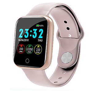 cheap Smartwatch Bands-I5 Smartwatch for Apple/ Android/ Samsung Phones, Sports Tracker Support Heart Rate/ Blood Pressure Measurement