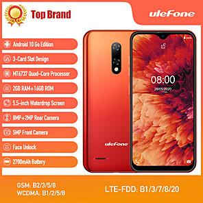 """お買い得  携帯電話-Ulefone note 8p 5.5 インチ """" 4Gスマートフォン ( 2GB + 16GB MediaTek MT6737 2700 mAh mAh )"""