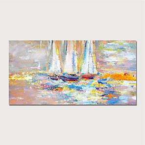 preiswerte Ölgemälde-handgemalte Leinwand Ölgemälde abstrakte Hauptdekoration mit Rahmenmalerei bereit zu hängen