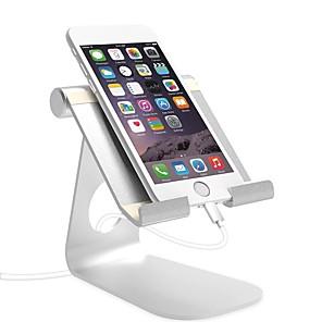 cheap Phone Mounts & Holders-Desk Mount Stand Holder Foldable / Adjustable Stand Adjustable Aluminum Alloy Holder