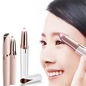 cheap Facial Care Device-Battery Electric Eyebrow Trimming Pen Hair Remover Razor Multifunctional Hair Remover Painless Eyebrow Shaver