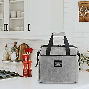 cheap Lunch Boxes & Bags-Soundance Insulated Lunch Box, Reusable Lunch Bag With Detachable Shoulder Strap, Soft Cooler Tote Bags For Adult Men Women