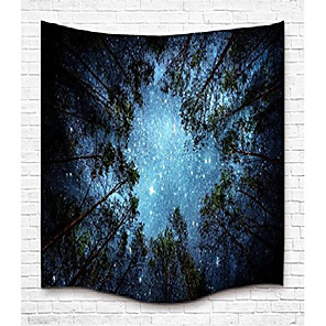 cheap Wall Tapestries-tapestry wall hanging wall tapestry forest starry tapestry galaxy tapestry milky way tapestry sky tapestry tree tapestry mandala bohemian tapestry for bedroom dorm decor