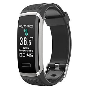billige Smartklokker-o6t menn kvinner smart armbånd smartwatch android ios bluetooth vanntett pulsmåler blodtrykksmåling sport kalorier forbrent stoppeklokke skritteller måler påminnelse aktivitet