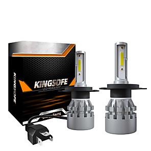 cheap Car Headlights-2PCS LED 6000LM Mini Car Headlight Bulbs K3-H4 Auto Lamps 6000K IP68 Waterproof