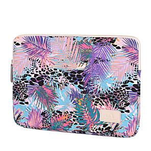 cheap Sleeves,Cases & Covers-11.6 Inch Laptop / 12 Inch Laptop / 13.3 Inch Laptop Sleeve / Tablet Cases Polyester Mixed Color / Leopard Print for Men for Women for Business Office Waterpoof Shock Proof
