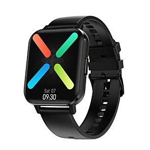 cheap Smartwatches-696 DTX Unisex Smartwatch Smart Wristbands Android iOS Bluetooth Touch Screen Blood Pressure Measurement Sports Information Message Control ECG+PPG Stopwatch Call Reminder Activity Tracker Sedentary