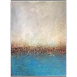 cheap Abstract Paintings-100% Hand painted profesional Original Hand Painted Modern Oil Painting Wall Decoration Landscape painting For Room Decor Painting Canvas artwork Rolled Without Frame