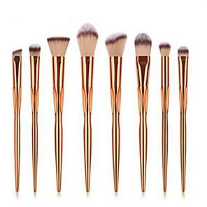 cheap Makeup Brush Sets-Professional Makeup Brushes 8pcs Professional Soft Full Coverage Comfy Plastic for Eyeliner Brush Blush Brush Foundation Brush Makeup Brush Eyeshadow Brush