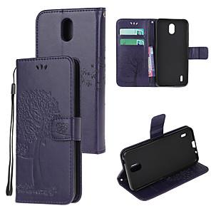 זול תיק טלפון אחר-נרתיק עבור נוקיה 4.2 נוקיה 1.3 נוקיה 2.3 נוקיה 5.3 תבניות גוף מלא מגנטיות עור pu בצבע אחיד