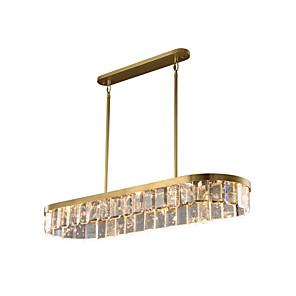 cheap Island Lights-110 cm Island Design Pendant Light Crystal Modern 110-120V 220-240V