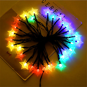 cheap Projectors-12M 100LEDs Solar LED Star String Lights Fairy String Lights Outdoor Waterproof 8 Functions Wedding Garden Lawn Christmas Decoration Solar Lights