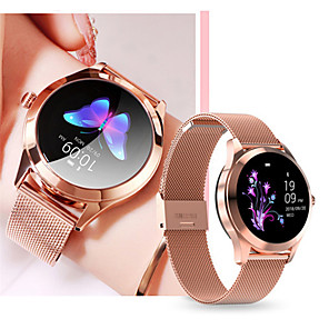 cheap Smartwatches-KW10 Women's Smart Wristbands Android iOS Bluetooth Waterproof Heart Rate Monitor Blood Pressure Measurement Distance Tracking Information Pedometer Call Reminder Activity Tracker Sleep Tracker