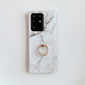 cheap RC Drone Quadcopters & Multi-Rotors-Case For Samsung Galaxy A31 A41 Note 20 A6 2018 A6 Plus 2018 A7 2018 A9 2018 Note 10 Note 10 Pro Note 10 Plus A10 M10 Ring Holder Pattern Back Cover Marble TPU