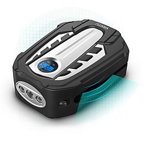 お買い得  インフレータブルポンプ-yantuポータブルエアコンプレッサーポンプdc 12vタイヤインフレーターatuo車のエアポンプデジタルディスプレイとledライトカーバイクam03