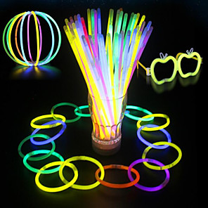 cheap Synthetic Trendy Wigs-Party Supplies Light Sticks 100pcs